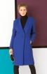 Пальто приталеного силуету з одностороннім лацканом - фото 1