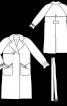 Тренчкот з кишенями-орігамі - фото 3