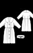 Пальто вінтажне з Burda 9/1959 - фото 3