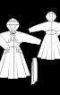 Пальто вінтажне з капюшоном - фото 3