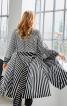 Пальто лаконічного крою з коміром-стойкою - фото 4