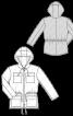 Куртка в спортивному стилі з капюшоном - фото 3