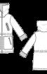 Парка з підкладкою зі штучного хутра - фото 3