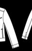 Куртка джинсова в стилі бомбера - фото 3