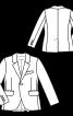 Піджак однобортний класичного крою - фото 3