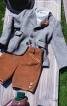 Піджак янкер з коміром-стійкою - фото 1