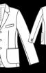 Піджак однобортний з двома шліцами - фото 3