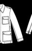 Піджак з накладними кишенями - фото 3