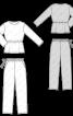 Пижама трикотажная с брюками - фото 3