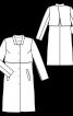Пальто однобортне в стилі тренчкота - фото 3
