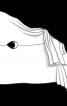 Пончо в'язане оригінального крою - фото 3