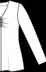 Пуловер розкльошеного силуету - фото 3