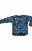 Пуловер прямого крою зі штучного хутра - фото 2