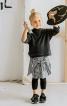 Пуловер просторого крою з високим коміром - фото 1