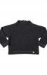Пуловер просторого крою з високим коміром - фото 2