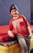 Пуловер з ефектом багатошаровості - фото 1