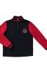 Пуловер прямого крою з коміром-стійкою - фото 2