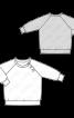 Пуловер реглан із застібкою на кнопках - фото 3