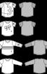 Джемпер із короткими контрастними рукавами - фото 3