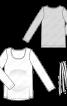 Пуловер просторого крою з поясом - фото 3