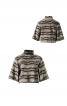 Пуловер короткий з рукавами-розтрубами - фото 2