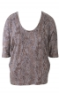 Пуловер із суцільнокроєними рукавами - фото 2