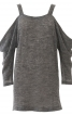 Пуловер реглан на широких бретелях - фото 2
