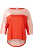 Пуловер із видовженою спинкою і рукавами 3/4 - фото 2