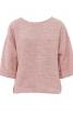 Пуловер з кишенями у рельєфних швах - фото 2