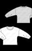 Пуловер з оригінальними складками на рукавах - фото 3