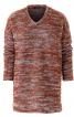 Пуловер прямого крою з в'язаного полотна - фото 2