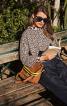 Пуловер з планкою навколо горловини - фото 1