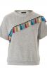 Пуловер з асиметричною кокеткою - фото 2