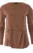 Пуловер з асиметричною деталлю переду - фото 2