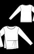 Пуловер з асиметричною деталлю переду - фото 3
