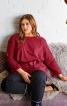 Пуловер з приспущеними проймами - фото 1