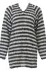 Видовжений пуловер з широкими рукавами - фото 2