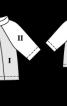 Пуловер з рукавами реглан - фото 3