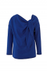 Пуловер з драпіровкою біля горловини - фото 2