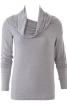 Пуловер з асиметрично вшитими рукавами - фото 2
