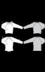 Пуловер прямого крою з рукавами реглан  - фото 3