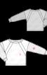 Пуловер з широким вирізом горловини - фото 3