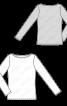 Пуловер-тільник з довгими рукавами - фото 3