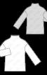 Пуловер просторого крою із в'язаного полотна - фото 3