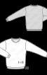 Пуловер з контрастними манжетами - фото 3