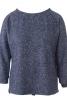 Пуловер прямий з видовженою спинкою - фото 2