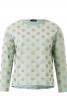 Пуловер прямого крою з круглим вирізом - фото 2