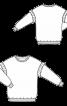 Пуловер з оборками уздовж пройм - фото 3