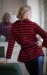 Пуловер із застібкою на спинці - фото 1