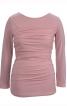 Пуловер зі зборками в бокових швах - фото 2